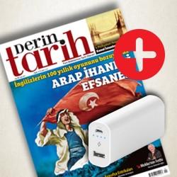 DERGİ + PROMOSYON - Derin Tarih - TTEC Powerbank 5000 mAh