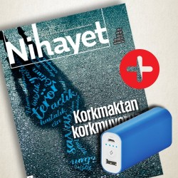 DERGİ + PROMOSYON - Nihayet - TTEC Powerbank 5000 mAh