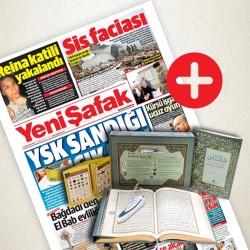 GAZETE + Kalem Kur'an-ı Kerim - Yeni Şafak + Kalem Kur´an-ı Kerim