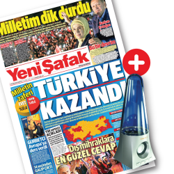 GAZETE + PROMOSYON - Yeni Şafak + Speaker Hoparlör