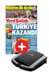 GAZETE + PROMOSYON - Yeni Şafak + Sinbo Tost Makinesi