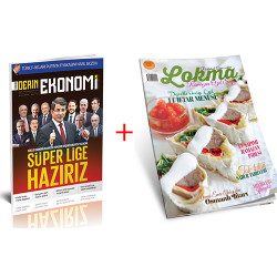DERGİ + PROMOSYON - DERİN EKONOMİ - LOKMA (YILLIK ABONELİK)