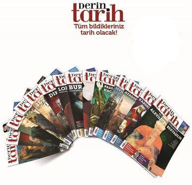 DERİN TARİH - KAMPANYALI ABONELİK (100 ADET DERGİ & EKLERİ)