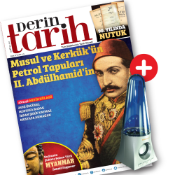 DERGİ + PROMOSYON - Derin Tarih - Speaker