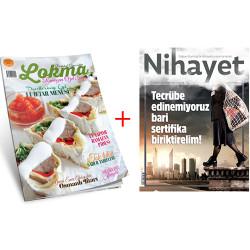 DERGİ - Lokma - Nihayet (Yıllık Abonelik)