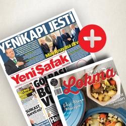 GAZETE + DERGİ - Lokma - Yeni Şafak (Yıllık Abonelik)