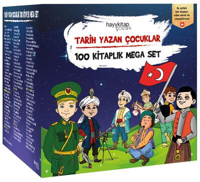TARİH YAZAN ÇOCUKLAR - 100 KİTAPLIK MEGA SET