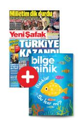 GAZETE + DERGİ - YENİ ŞAFAK - BİLGE MİNİK