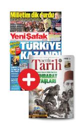 GAZETE + DERGİ - Yeni Şafak + Derin Tarih (Yıllık Abonelik)